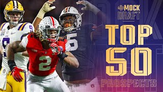 Top 50 NFL Draft Prospects