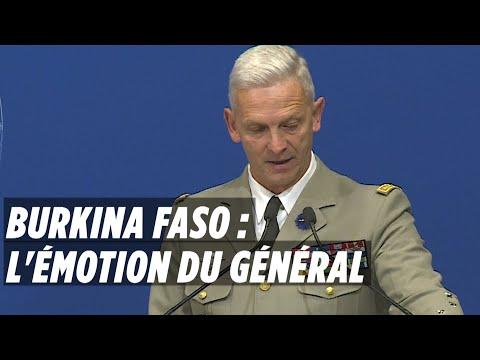 Commandos tués au Burkina faso : l'émotion du Général Lecointre