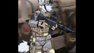 Furry Army And Soldiers Of All Types Youtube