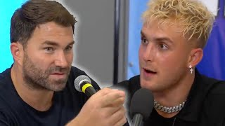 Eddie Hearn Explains Why Jake Paul Won't Fight The Logan Paul VS KSI Rematch Undercard