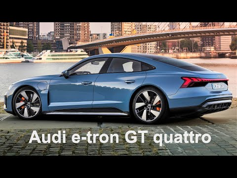 YIL Model 2022 Audi e-tron GT quattro – Luxury Performance Electric Sportback Teknik ve Özellikleri