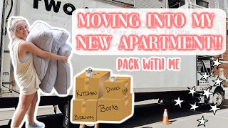 MOVING INTO MY NEW APARTMENT   part 1