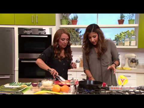 Aliya's Segment on Peggy's Kitchen Cures - Mood Foods - YouTube