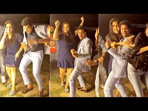 Anchor Sreemukhi shares funny dance video on Mukku Avinash's birthday