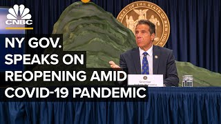 New York Gov. Andrew Cuomo holds briefing as more businesses reopen — 9/8/2020