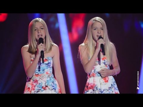 Katie and Emilie Sings Radioactive | The Voice Kids Australia 2014