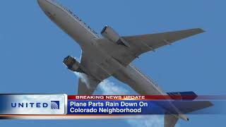 Plane experiencing engine trouble scatters large debris throughout Colorado neighborhood, lands safe