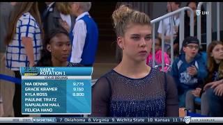Pauline Tratz (UCLA) - Vault (9.850) - Ohio State at UCLA 2018