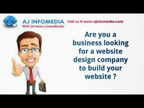 Website Design Company India | Web Design Services India |  AJInfomedia.com