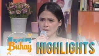 Magandang Buhay: Yam Concepcion becomes emotional