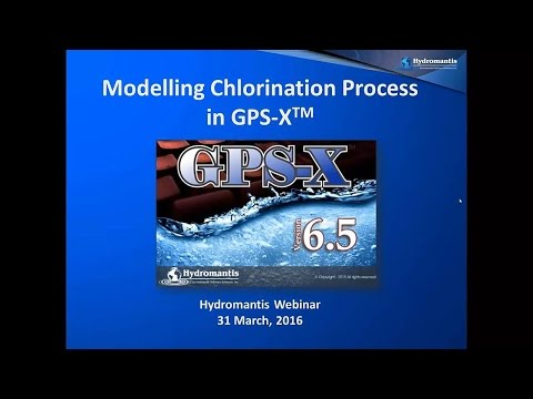 Webinar: Modelling Chlorination Byproduct Formation with GPS-X
