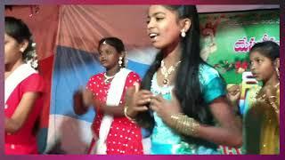 Rare Chootamu Raja Suthuni/Telugu Christian Christmas Song /Dance performance