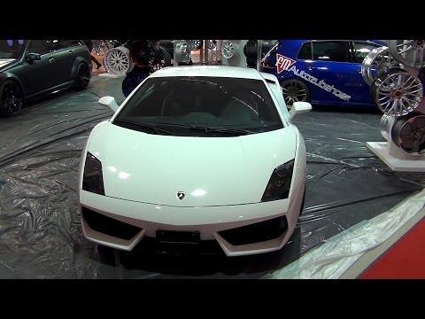 Lamborghini Gallardo Exterior in 3D 4K UHD