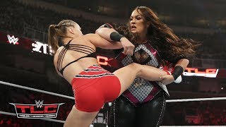 Nia Jax uses raw power to counter Ronda Rousey's fast-paced offense: WWE TLC 2018 (WWE Network)