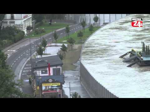 Hochwasser vom 4 Juni 2013 in Grein und Umgebung