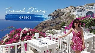 NHẬT KÝ ĐI SANTORINI, HY LẠP - Greece Travel Vlog   Taste From Home