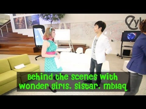 Behind the Scenes with Wonder Girls, Sistar, and MBLAQ