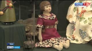 В Омске открылась выставка антикварных игрушек из частной коллекции