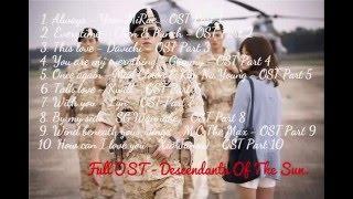 Tuyển tập nhạc phim Hậu Duệ Mặt Trời - Descendants of the Sun - Full OST
