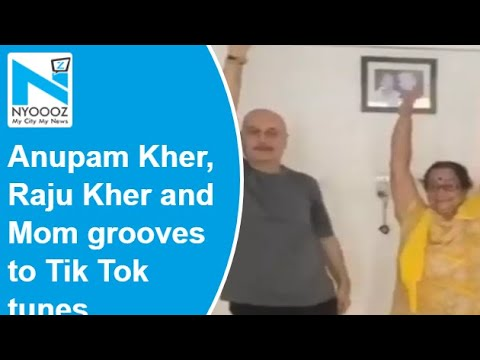 Anupam Kher's mother steals the limelight as she dances in latest video