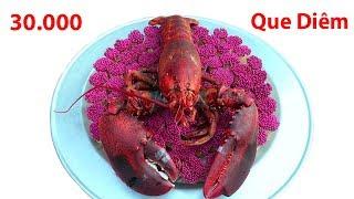Hữu Bộ | Nướng Tôm Hùm Bằng 30000 Que Diêm | Grilled Lobster With Matchstick