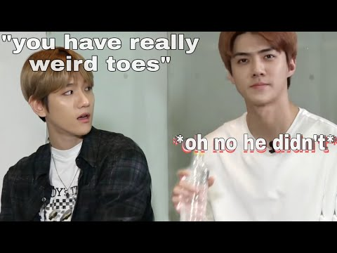 when EXO get fed up with each other