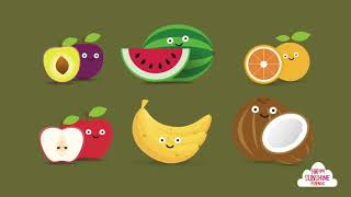 English & Chinese Children Fruit Song   Fun & Educational Learning Flash Card Video