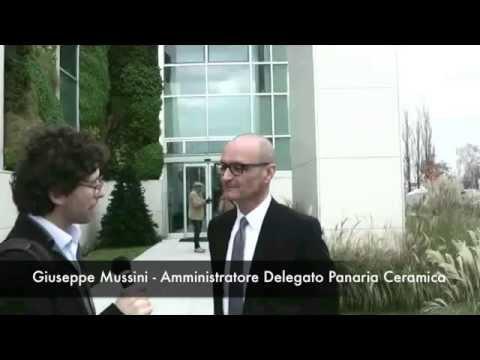 Panaria - Inaugurazione sede aziendale - Il commento di Giuseppe Mussini