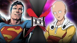 Superman vs Saitama (DC VS One Punch Man) | DBX