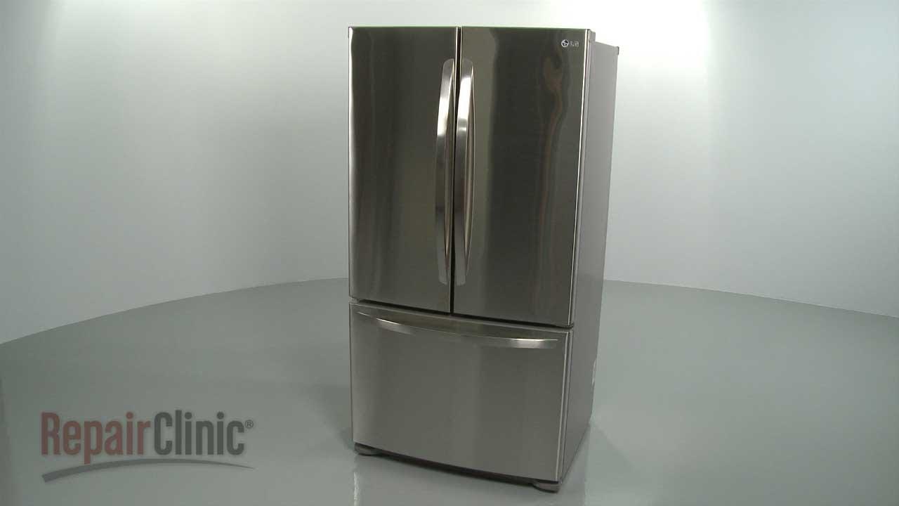 Lg Refrigerator Disassembly Refrigerator Repair Help