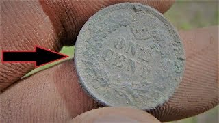 1877 Historic Downtown Metal Detecting Old Coins