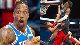 "NBA ""Best Dunks of 2021"" MOMENTS"