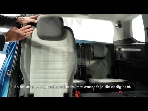 Volkswagen Touran interieur 2015
