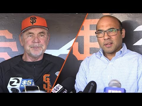 Bruce Bochy, Farhan Zaidi explain tough decision to DFA Joe Panik