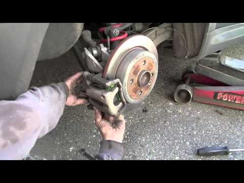 mini cooper replacing rear brake pads youtube. Black Bedroom Furniture Sets. Home Design Ideas