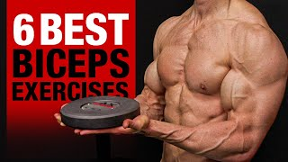 6 BEST Biceps Exercises (DON'T SKIP THESE!!)