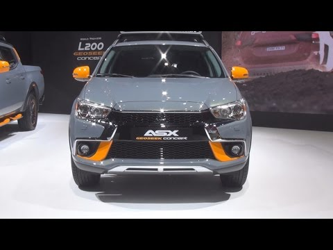 Mitsubishi ASX Geoseek Concept (2016) Exterior and Interior in 3D