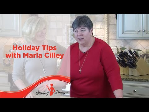 Weight-Loss Holiday Tips from Saving Dinner's Leanne Ely and FlyLady Marla Cilley
