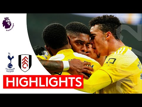 Tottenham Hotspur 1-1 Fulham | Premier League Highlights | Fulham fight back to stay unbeaten in six