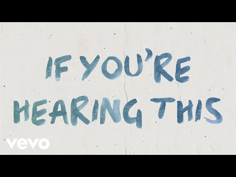 Hook N Sling x Parson James x Betty Who - If You're Hearing This (Lyric Video)