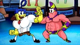 Super Brawl 4 - SpongeBob SquarePants - Cartoon Movie Game - New Episodes 2015 HD