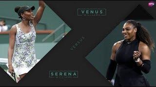 2018 Indian Wells Third Round | Venus Williams vs. Serena Williams | WTA Highlights
