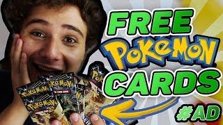 The Pokemon Company Sent Me FREE Pokemon Cards! #AD