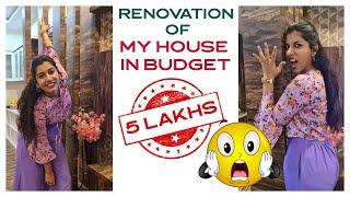 Anchor Vishnu Priya renovates her home with help of Ram Pr..