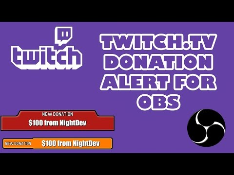 How To Setup TwitchAlerts | A Twitch Follow/Subscribe/Donation Alert