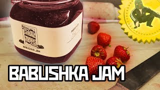 How to make Babushka's Strawberry Jam - Cooking with Boris