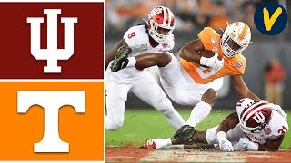 Indiana vs Tennessee Highlights   2020 Gator Bowl Highlights   College Football