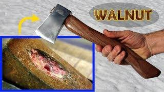 Restore: black walnut hatchet