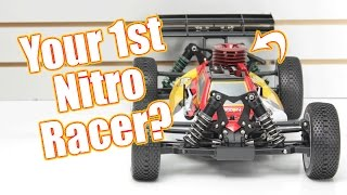 Your First Nitro Racing Buggy? - Losi 8IGHT Nitro RTR Unboxing