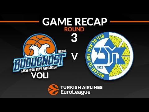 KK Buducnost Voli vs Maccabi Tel-Aviv